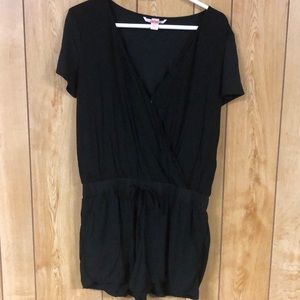 Black Victoria's Secret Romper